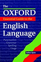 The Oxford Essential Guide to the English…