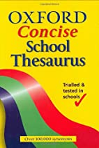 Oxford Concise School Thesaurus by Alan…