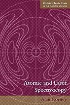 Atomic and Laser Spectroscopy (Oxford…