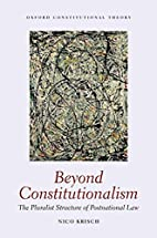 Beyond Constitutionalism: The Pluralist…
