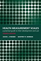 Health Measurement Scales: A practical guide…
