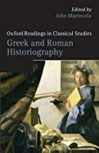 Greek and Roman Historiography (Oxford…