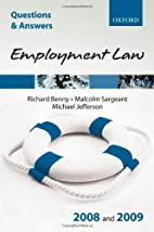 Q & A Employment Law 2008 and 2009…