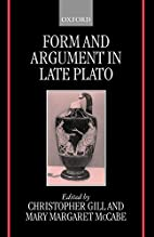 Form and Argument in Late Plato by…