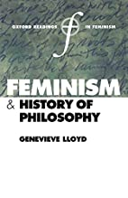 Feminism and History of Philosophy by…