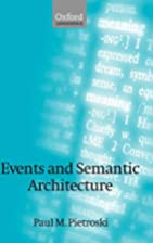 Events and semantic architecture by Paul M.…