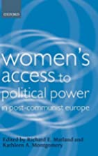 Women's Access to Political Power in…