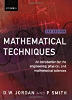 Mathematical Techniques: An Introduction for…