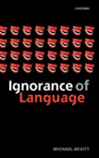 Ignorance of Language by Michael Devitt