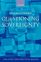 Questioning Sovereignty: Law, State, and…