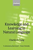 Knowledge and Learning in Natural Language…