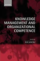 Knowledge Management and Organizational…