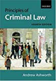 Ashworth, Andrew: Principles of Criminal Law