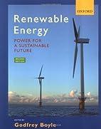 Renewable Energy by Godfrey Boyle