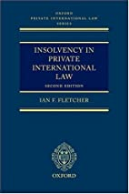Insolvency in Private International Law:…