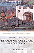 The Oxford English Literary History: Volume…