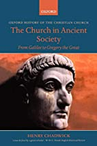 The Church in Ancient Society: From Galilee…
