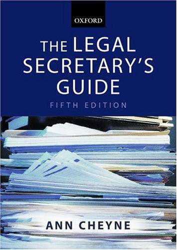 the-legal-secretarys-guide