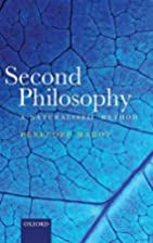 Second Philosophy: A Naturalistic Method by…