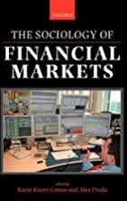The Sociology of Financial Markets by Karin…