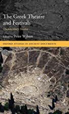 The Greek Theatre and Festivals: Documentary…