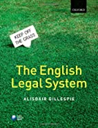 The English Legal System by Alisdair…