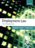 Taylor, Stephen: Employment Law: An Introduction