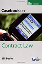 Casebook on Contract Law by Jill Poole
