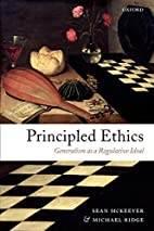 Principled Ethics: Generalism As a…