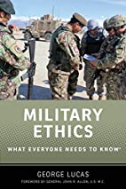 Military ethics : What everyone needs to…
