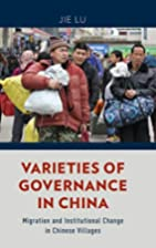 Varieties of governance in China : migration…