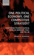 One Political Economy, One Competitive…