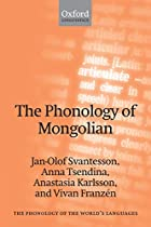 The phonology of Mongolian by Jan-Olof…