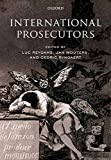 Reydams, Luc: International Prosecutors