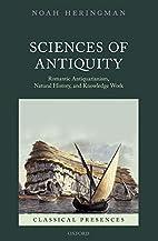 Sciences of Antiquity: Romantic…