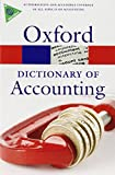 Law, Jonathan: A Dictionary of Accounting (Oxford Paperback Reference)
