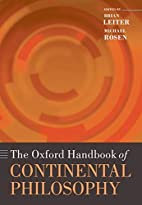 The Oxford Handbook of Continental…