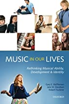 Music in Our Lives: Rethinking Musical…