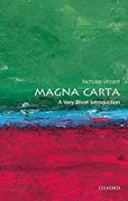 Magna Carta: A Very Short Introduction by…