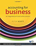 Scott, Peter: Accounting for Business: An Integrated Print and Online Solution