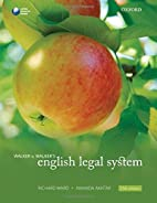 Walker & Walker's English Legal System by…