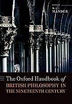 The Oxford Handbook of British Philosophy in…