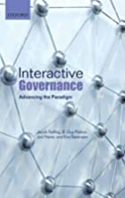 Interactive Governance: Advancing the…