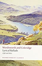 Lyrical Ballads: 1798 and 1802 (Oxford…