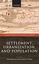Settlement, Urbanization, and Population…