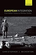 European Integration: From Nation-States to…