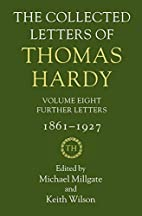 The Collected Letters of Thomas Hardy:…