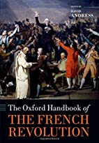 The Oxford Handbook of the French Revolution…