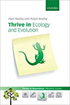 Thrive in Ecology and Evolution (Thrive In…