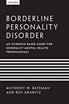 Borderline Personality Disorder: An…